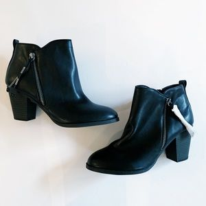 Report | Black Marcel Ankle Booties
